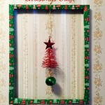 Sometimes it's the quick & easy Christmas craft that can get you through a snow day & is super easy. You can use items found in the house & the Dollar Tree.