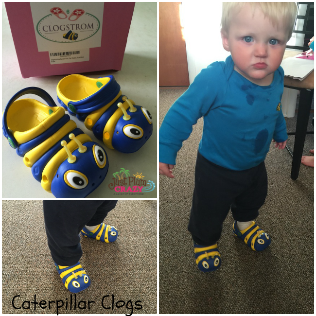 I think these kids's Caterpillar Sandals are so freaking cute that we all love them. Available in 3 color & 6 size variations on Amazon.