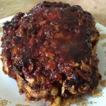 Today, we have Barbecue-Glazed Meat Loaf for you. It smelled delicious & tasted as good as it smelled. My husband loved it and he's not a fan of BBQ sauce.