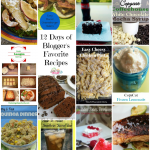 We just got through with another round of 12 days of Blogger's Favorite Recipes. Here is a recap of all 12! Which one will you try first?