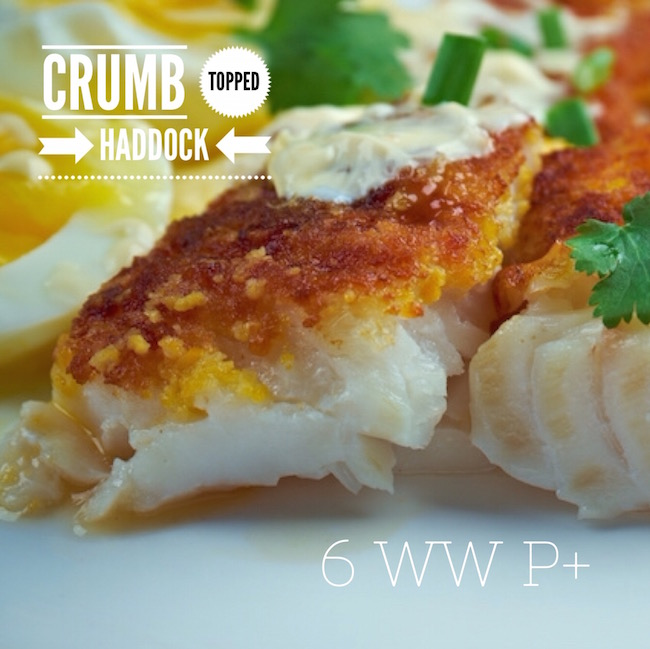 Crumb Topped Haddock