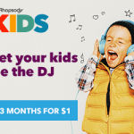 Rhapsody Kids – A Fun & Easy Music Experience for Kids! $300 Target GC #Giveaway (ends 10/30) @Rhapsody