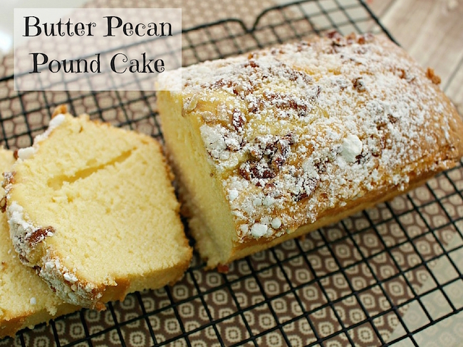 This month we hope to bring you some really great ideas that you can use for Thanksgiving. Janell has a delicious recipe for Butter Pecan Pound Cake.