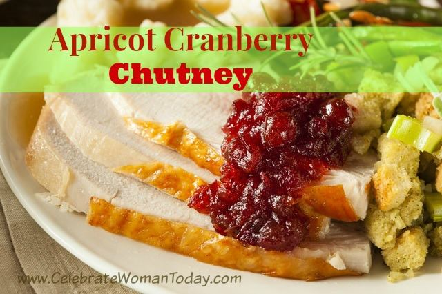 Here's a recipe idea for your sauces on a table, Apricot Cranberry Chutney. Make something out-of-the-box this season to experience new tastes & flavors.