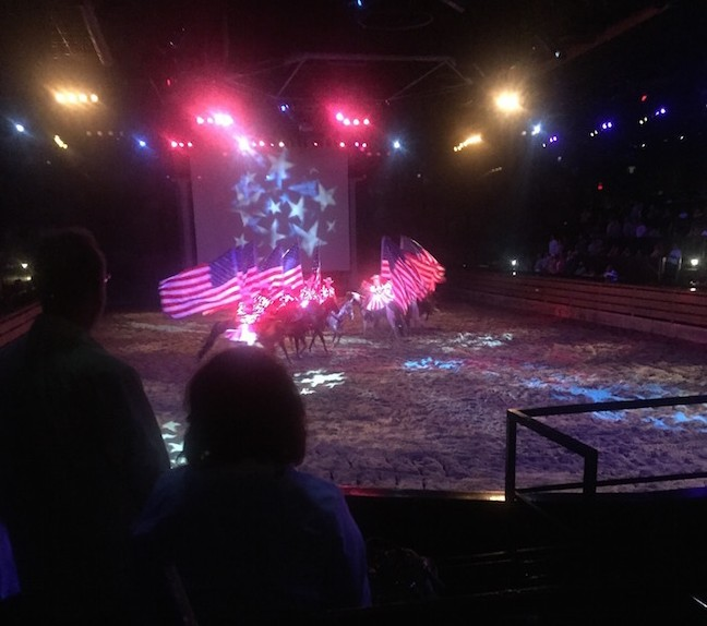 Northern Lights Arena Stampede: Dixie Stampede, Branson, MO