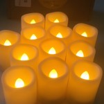 Timer Votive Flameless Battery Operated Candles #Review