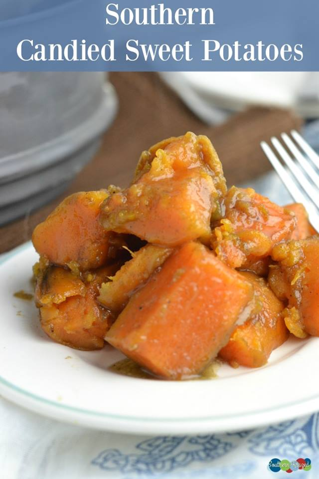 Thanksgiving just wouldn't be Thanksgiving without sweet potatoes on the menu. Nothing beats old time Southern Candied Sweet Potatoes!
