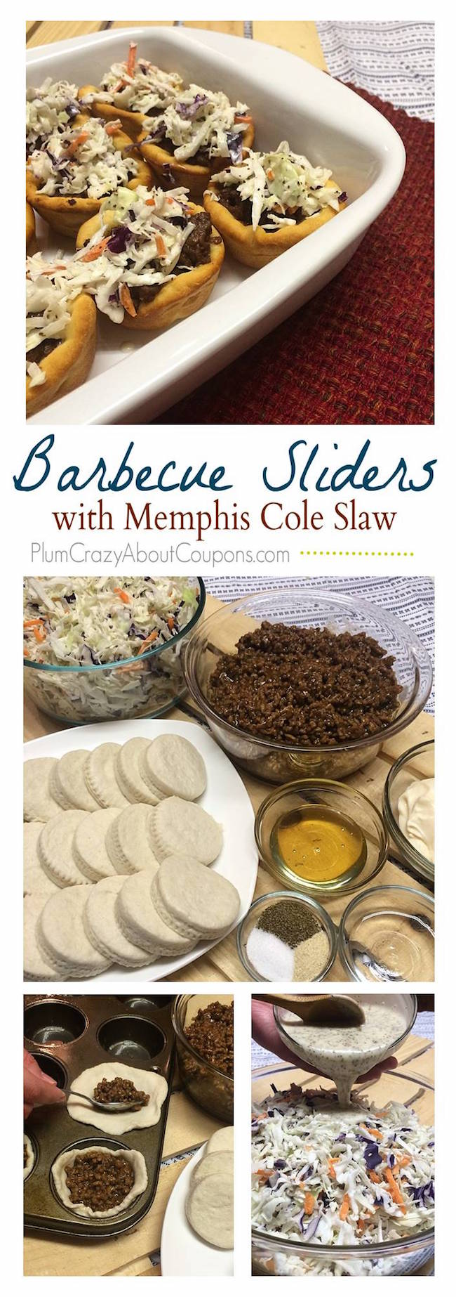 These make a great Super Bowl food but even if you aren't having a Super Bowl party, these BBQ Sliders with Memphis Slaw are perfect for your family.