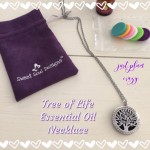 Tree of Life Essential Oil Necklace Diffuser #Review