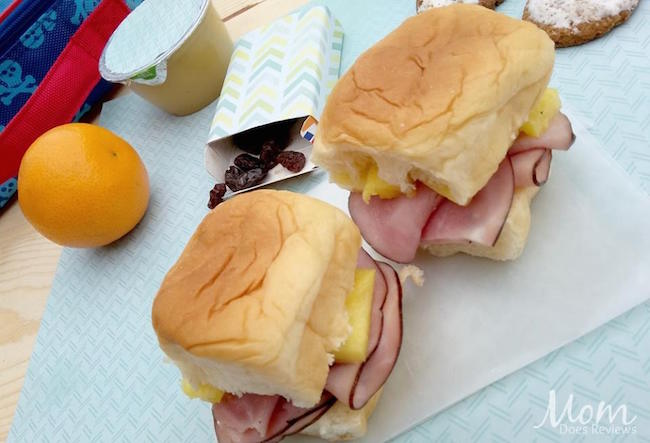 Their ham and pineapple Hawaiian Slider cannot be any easier AND at just under $2.50 you can have a complete meal for your child any day of the week!