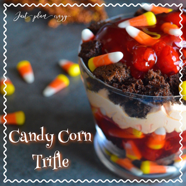 Halloween is almost here & the first thing I think of is candy corn. This Candy Corn Trifle recipe is perfect for this time of year.