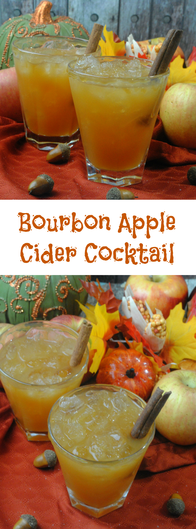 know some of you are getting snow and the Bourbon Apple Cider Cocktail ...