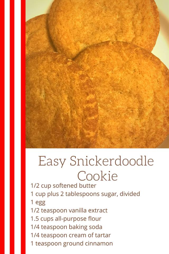 It is always good to have a cookie recipe that you can make quick and is loved by most people. The easy Snickerdoodle Cookie recipe is just that!