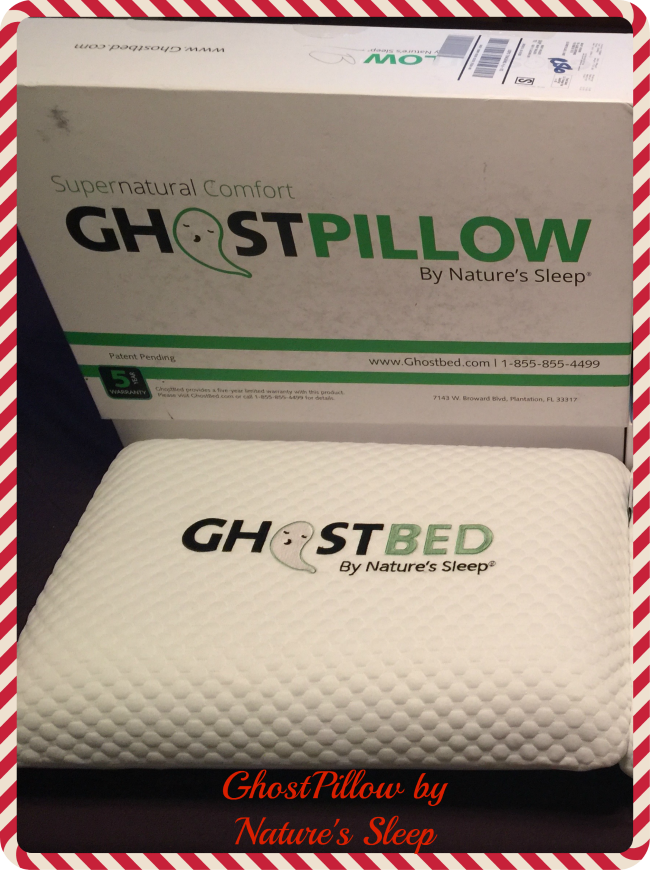 The GhostPillow is ergonomically designed so your head and neck achieve ideal spinal alignment. It's soft but supportive made of solid pure gel memory foam.