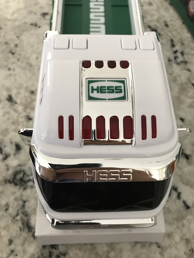 The Hess Toy Truck has been around for many years and each year they bring out a new one. This year, they created a race duo complete with the dragster.