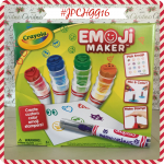 Crayola Emoji Maker #JPCHGG16 #JustPlumCrazy @Crayola