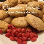 Cinnamon Heart Cream Cheese Cookies Recipe Day 9 #12DaysOf