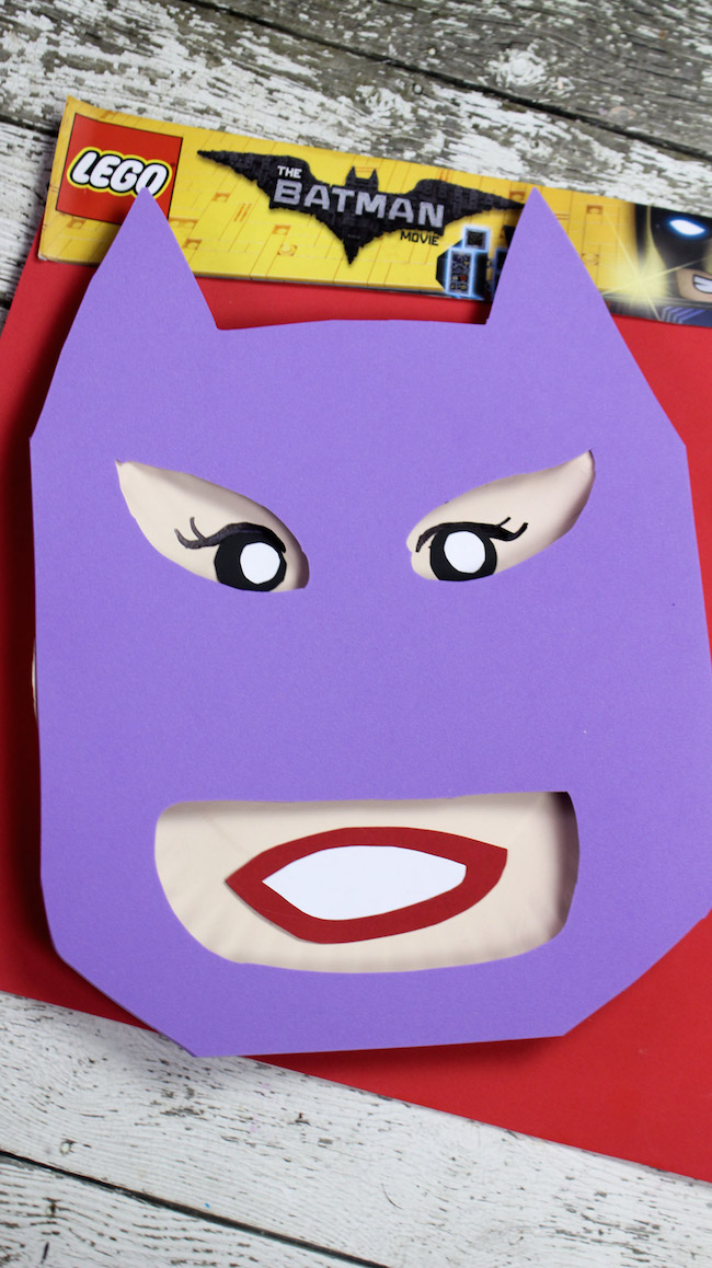 Well, we just shared our Batman Paper Plate Craft tutorial and now we have our BatGirl Paper Plate Craft tutorial. We will also have Robin and the Joker.