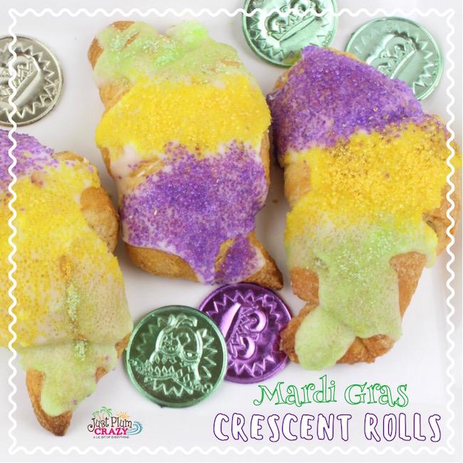 Mardi Gras Crescent Rolls Recipe