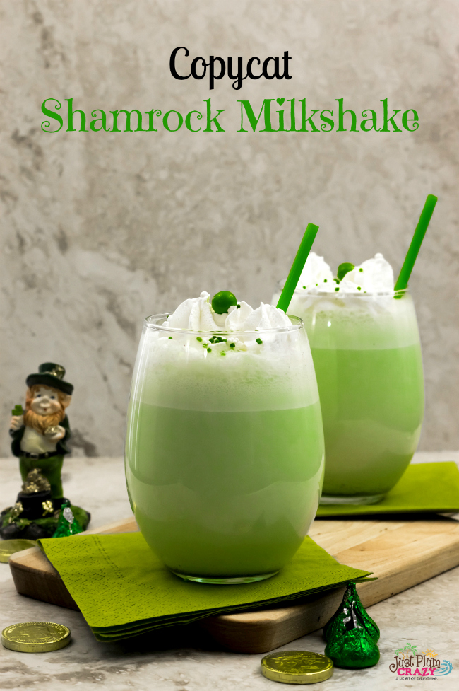 The thing I hate is other times of the year when I'm craving something seasonal...like a Mcdonald's Shamrock Milkshake and you can't get it anywhere!