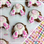 Easter Bunny Butt Pretzels Recipe