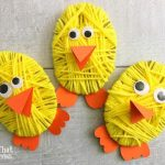 Easter Chick Yarn Craft Day 1 #12DaysOf