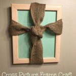 Picture Frame Cross Craft Day 2 #12DaysOf