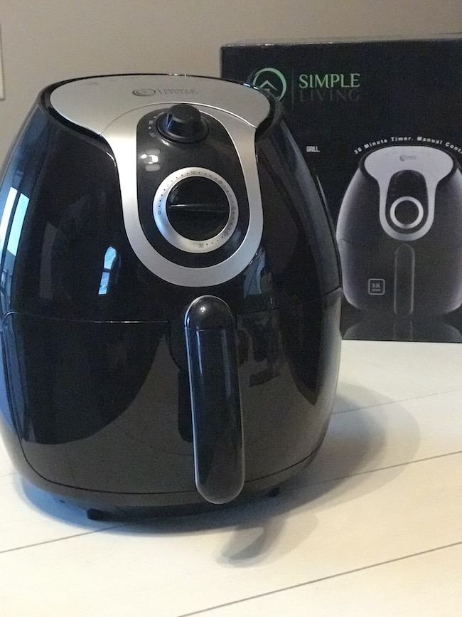 Simple Living Products new XL 5L Air Fryer is extra large so you can cook for the entire family at once. It also can Bake, Grill, Roast and Air Fry.