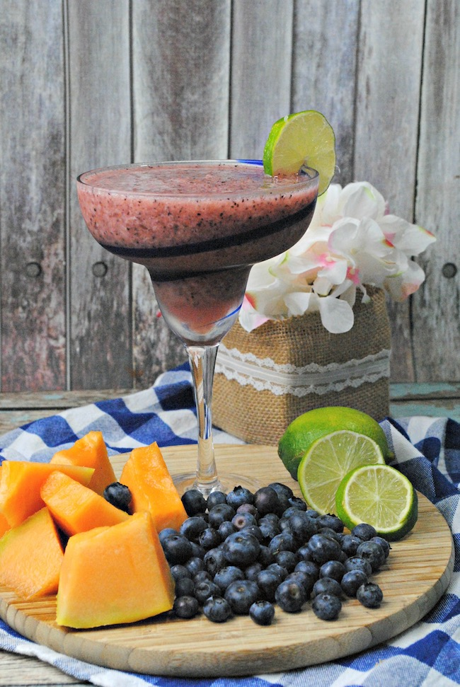 While you're planning your Cinco de Mayo menu don't forget the beverages. Want a perfect rim on your Blueberry Cantaloupe margarita recipe glasses?