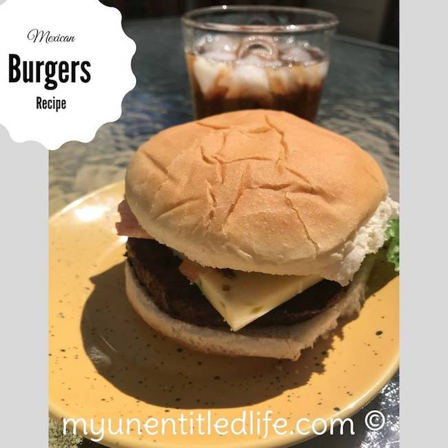I love a good grilled burger. Don't you? I have a new twist on an old favorite, a Grilled Mexican Burger recipe. Makes a delicious addition to any meal.