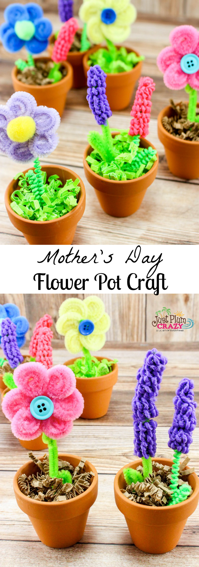 One of my fondest memories is a flower pot craft that I received for Mother's Day from my boys when they were little that I still have almost 30 yrs. later.