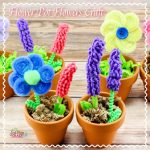 Mother's Day Flower Pot Flowers Craft