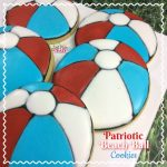 Patriotic Beach Ball Cookies Recipe