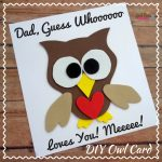 Father's Day OWL Card Craft DIY