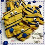 Minion Pretzel Bark Recipe