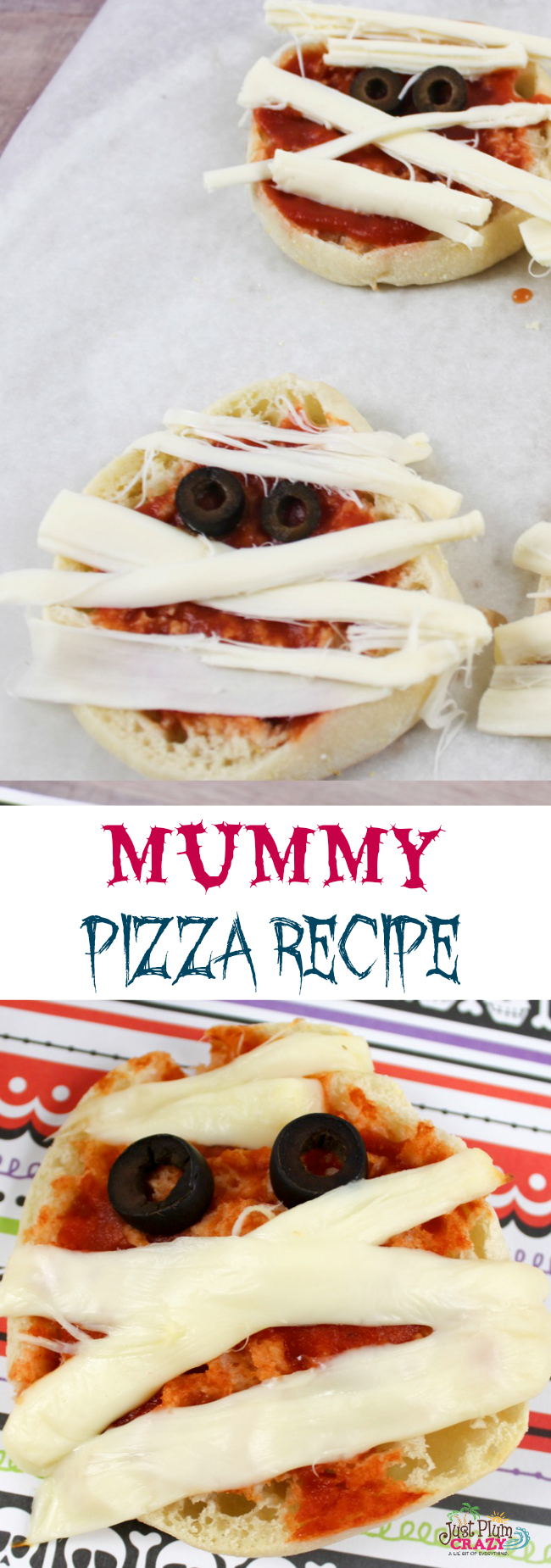 Halloween Mummy Pizza Recipe