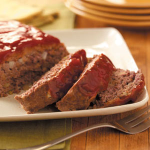 Horseradish Meatloaf - Weight Watchers