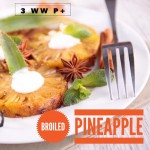 Broiled Pineapple with Marshmallows 3 WW P+