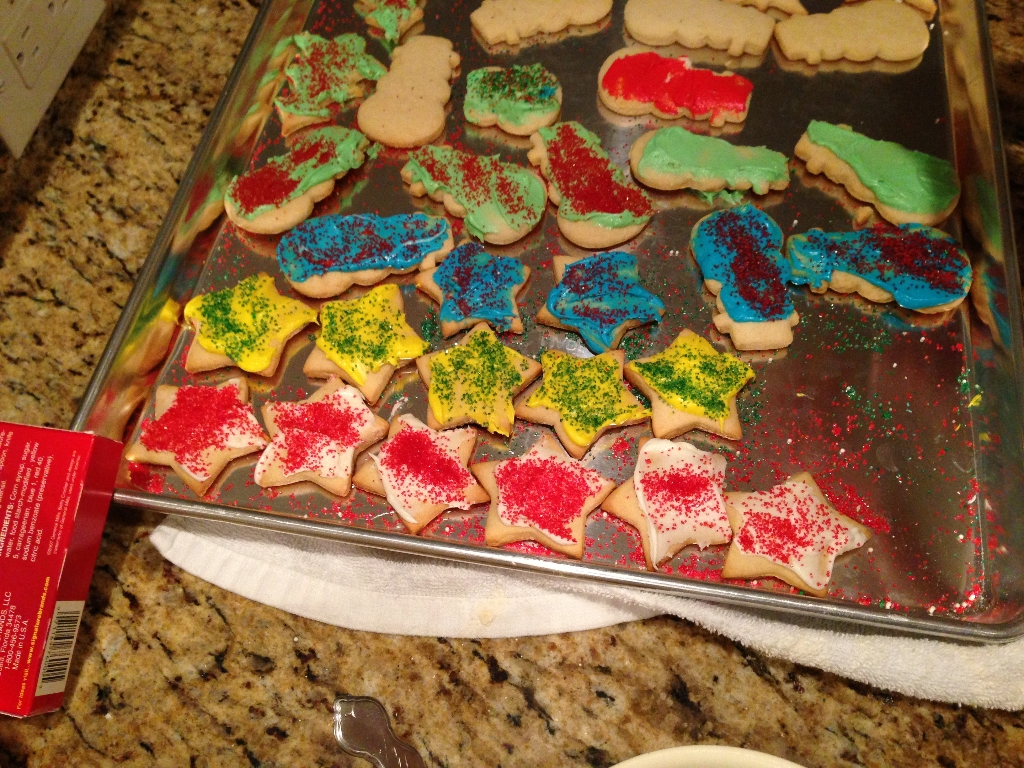 Sour Cream Anise Cut Out Christmas Cookies Be Plum Crazy