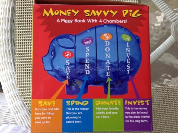 Piggy Bank Helps Kids Save Money