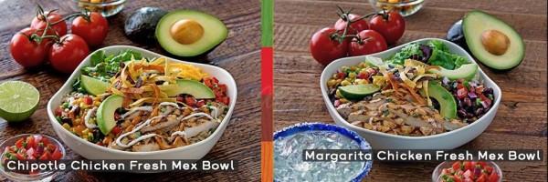 Chili's Fresh Mex Menu