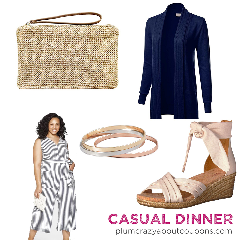 Plus Sized Cruise Fashion - Casual Dinner