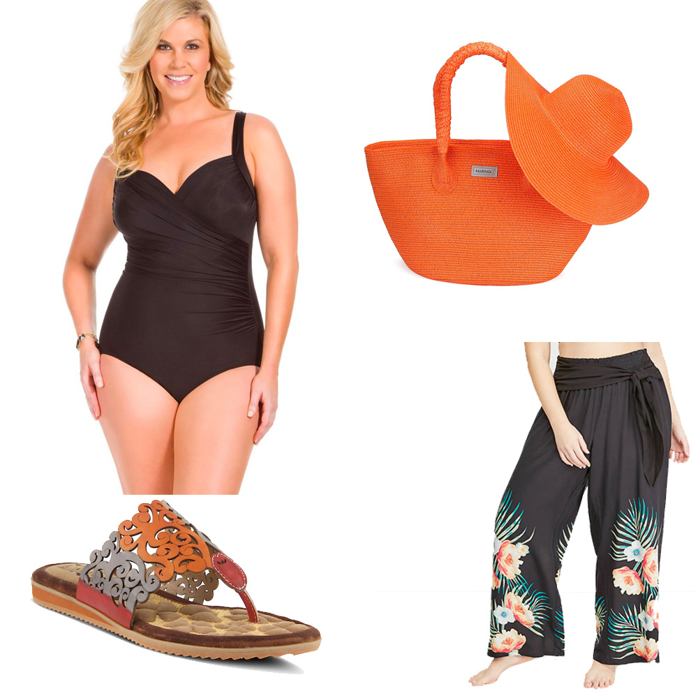 Plus Size Cruise Wear - Swimsuit for Pool