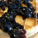 Weight Watchers Blueberry Sauce with Wymans Blueberries ~ 0 PP