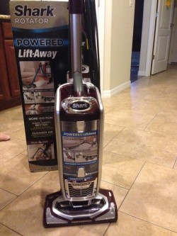 Shark Rotator Powered Lift Away Vacuum Just Plum Crazy