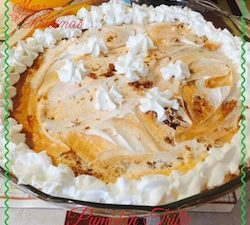 Welcome to our first annual 12 days of Christmas desserts. Cookies, cakes and breads are the norm for the holidays. This year I am making a Pumpkin Trifle.