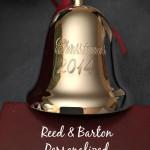 Personalized Christmas Ornament from Reed & Barton @ReedandBarton