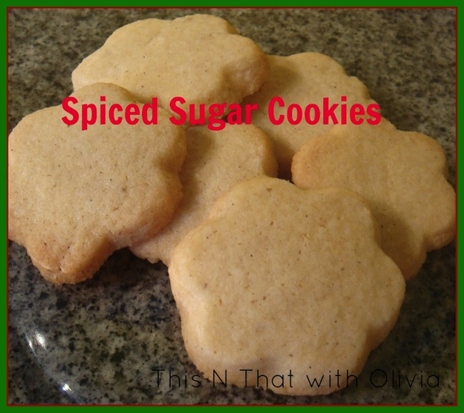 Are you attending any cookie exchanges this year? If so, be sure to check out this spin on the classic sugar cookie-- Spiced Sugar Cookies!