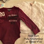 "Truly Scrumptious by Heidi Klum Now Available at Babies""R""Us"