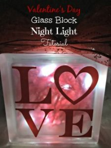 I have been wanting to make a glass block night light for awhile now, but haven't gotten around to it. It's super easy and not that expensive to make.